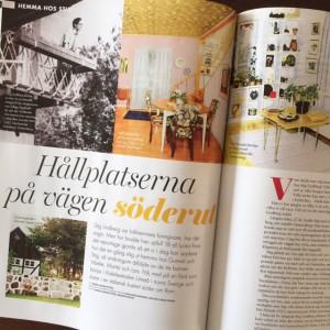 Ur Retros specialbilaga om Stig Lindberg. Jag skriver om hans olika hem, från Umeå till Italien.