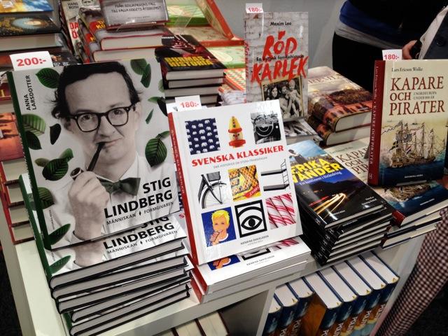 """Boken """"Stig Lindberg – Människan, Formgivaren på Bokmässan 2014"""