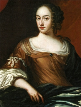 Agneta Horn, porträtterad av David Klöcker Ehrenstrahl