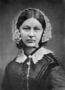 Florence Nightingale 1858.