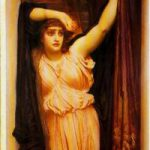 Attackerad konst: Last watch of hero and Captive av Frederic Leighton.